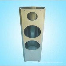 Molduras de alumínio para alto-falante avançado