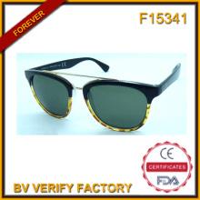 F15341 Qualitativ hochwertige Mode PC & Metall Kreis Rahmen Sonnenbrillen