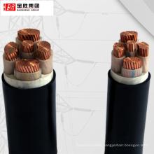 Copper/ aluminum conductor XLPE insulation PVC sheath  medium voltage up to 35KV power cable