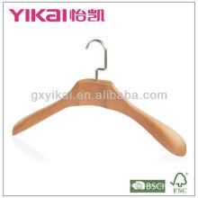 Cintre en bois de haute qualité avec épaules larges