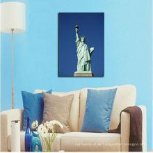 Estatua de Nueva York de la alta calidad de la pintura de la lona de la libertad