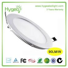 Shenzhen levou luz do painel preço de fábrica rodada 6w levou iluminação do painel para casa e escritório