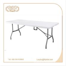 Outdoor Table Metal Material Klapptisch für Außenbereiche HDPE