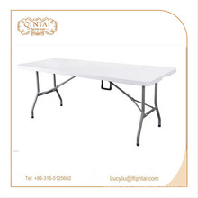 Table pliante extérieure en métal HDPE