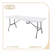Outdoor Table Metal Material outdoor folding table HDPE