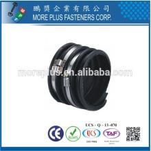 Fabriqué à Taiwan en acier au carbone Schlauchklemmen Collier de serrage du pont Collier de serrage en spirale