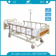 AG-Bm107 avec Silent Wheels 3-fonction ISO et Ce lit réglable approuvé