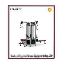Kommerzielle Fitness-Studio-Ausrüstung 4 Station Multi Gymnastik-Trainingsmaschine