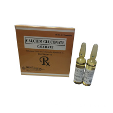 GMP Calcium Gluconate Injection 10% 10ml