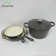 Best Selling Cookware Cast Iron Hot Pot Enamel Casserole Set