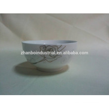 New Bone China Bowl for restaurant with high class quality hot sale in china ceramic factory