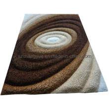 Полиэстер Современные мохнатые ковры с 3D эффектами -2 (CYXH0053-01)