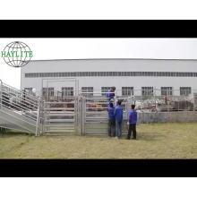 Heave duty cattle yard portable sliding race gate for sale