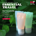 New design silicone empty travel toiletry bottles