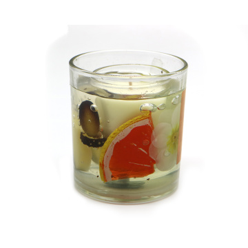 Kleur Ocean Glass Jelly Candle In Glass Jar