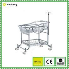 Mobília de hospital para carrinho de criança médico de aço inoxidável (HK502)