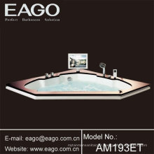 Baignoire balnéo acrylique baignoire hydromassage / Baignoires avec TV (AM193ET)