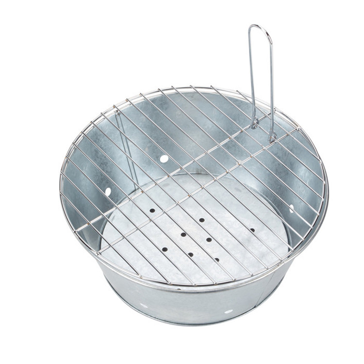 Galvanized Bbq Portable Grill