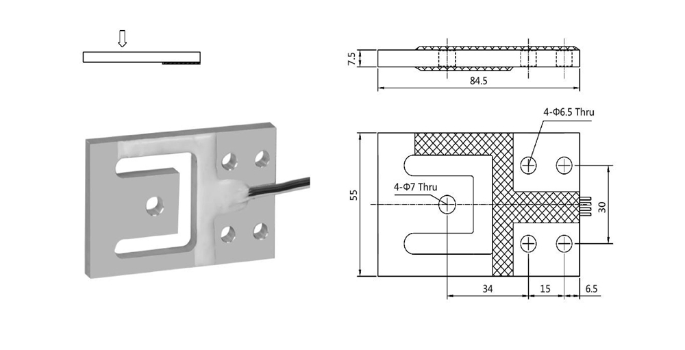 Low Force StaticLoad Cells