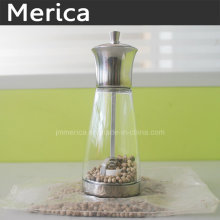 Stainless Steel Manual Spice or Peppr Grinder