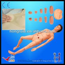 Haute qualité Advanced Life-size Full Functional Medical infirmières manikins modèles de formation infirmière pour femme