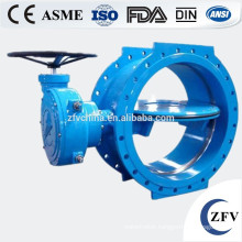 Factory Price Rubber Seated Butterfly Valve(DIN3202,F4), double flanged butterfly valve