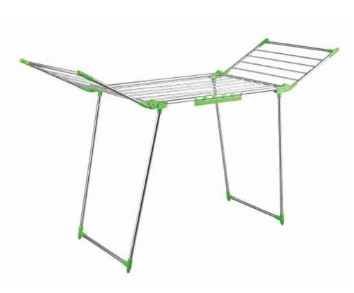 Stable floor-standing drying rack