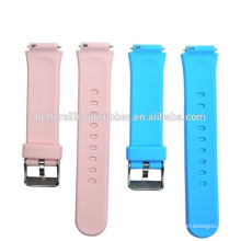 silicone watch wrist band kids silicone watchband