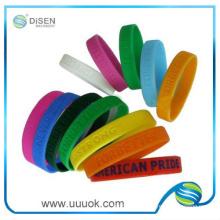 Großhandel-Silikon-Kautschuk-Armband