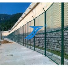 Barrière soudée par double fil horizontal