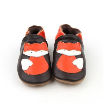 Kulit Bayi Unisex Shoes Animal Pattern Baby Loafer