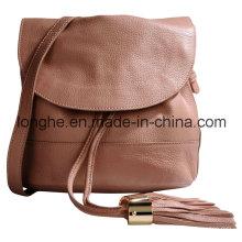 Casual Drawstring Tassel Lady Handbag (LY0292)