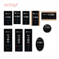 Actop Smart hotel plaque design nouvelle mode