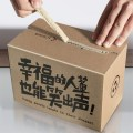 new design zipper carton box