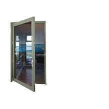 Современная творческая перерабатываемая распашная алюминиевая дверь