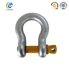 Adjustable clevis chain shackle