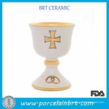 China Bandas de boda baratos White Chalice Cup