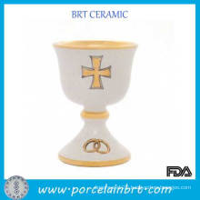 China Cheap Wedding Bands White Chalice Cup
