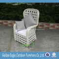 Cadeira dobrável de móveis de vime para restaurante
