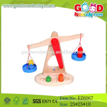 2015 Newest Educational Children Wooden Balance Scale Toy