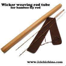 Tube en tige de bambou à tige en velouté