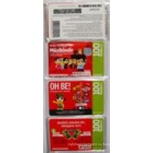 Конкурентная цена Scratch Мобильный телефон пополнения карты
