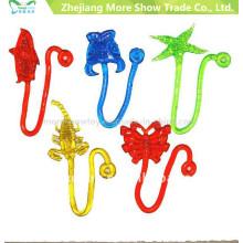 Wholesale TPR Butterfly Sticky Toys Party Favors Novelty