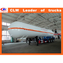 40000L-60000L 3 Axle LPG Transport Tank Trailer LPG Tanker Semi Trailer
