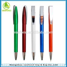 Высокое качество пластиковых спрей краска шариковая ручка с металлическим зажимом