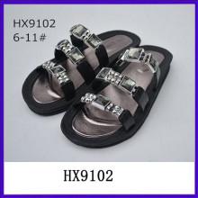 Sandalias de señora pvc de alta calidad para mujer