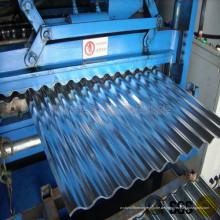 Maschine zur Herstellung sinusförmiger Bleche