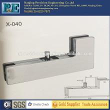 China de acero inoxidable de fabricación puerta de vidrio abrazadera de manivela