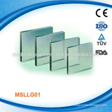 Lead glass for radiation protection MSLLG01M, factory based, competitive price, Quality assured!