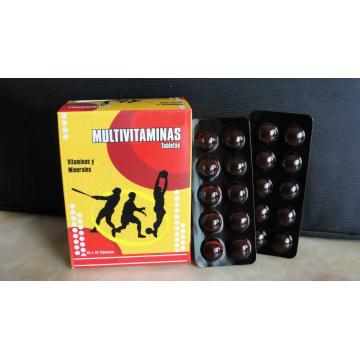 Multivitamins and Minerals Tablets BP
